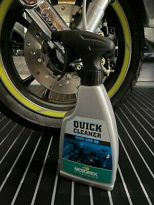Motorex Quick Cleaner 500ml WIPE and GO! Schnellreiniger mit Abperleffekt