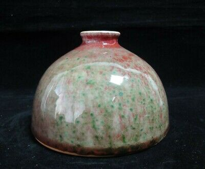 "Very Fine Chinese Old ""YaoBian"" Glazes ""TaiBaiZun"" Wine Pot Vase with Marks"