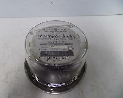 General Electric Single-Phase Watthour Meter
