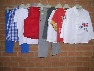 NEXT STELLA MCCARTNEY GAP etc Boys Bundle T-Shirts Tops Jeans Age 2-3 98cm