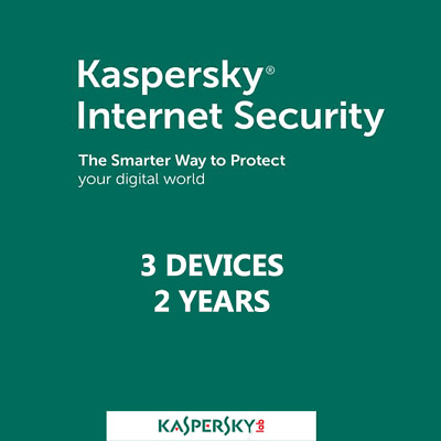 Kaspersky Internet Security 3 Devices 2 Years GLOBAL for PC