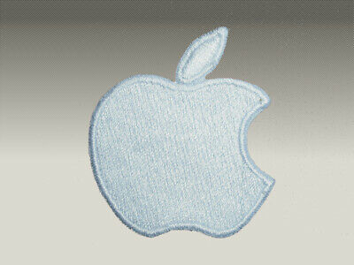 3 Patch Toppe Apple  Ricamate Termoadesive 6X6 Cm