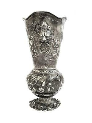 Silver Solid Vase 19th century
