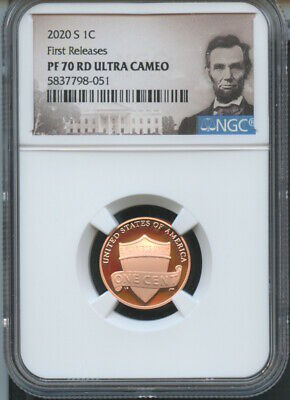 2020 S Lincoln Cent First Releases NGC PF70 RD U.C. Portrait