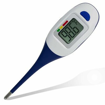 Apex Large Face Oral Thermometer for Adults & Kids, Accurate, FREE SHIP, NEW