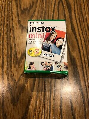 Fujifilm instax mini Instant Daylight Film Twin Pack, 20 Exposures EXP 07-2021