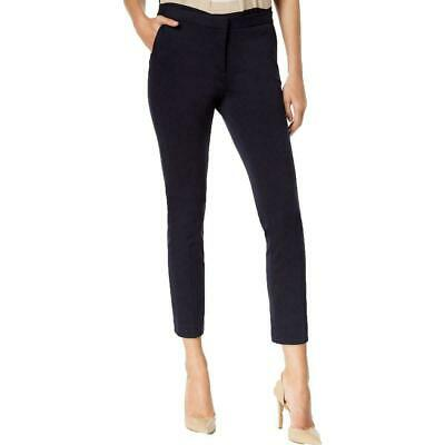 Tommy Hilfiger Women's Pants Blue Size 6 Ponte Ankle Slim Leg Stretch $79 #077