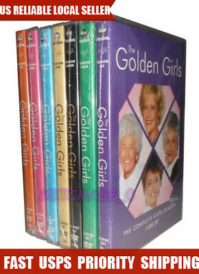 Brand new The Golden Girls Complete Series DVD Bundle Season 1-7 (21-Disc) US