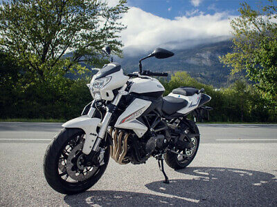 Benelli BN 600i ABS weiss Naked auch Drosselbar Aktionspreis / Netto € 5000,- !!