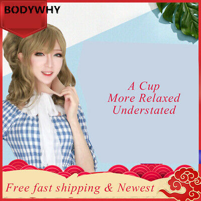 A Cup Realistic Silicone Breast Forms Crossdress Mastectomy  Cosplay Shapewear