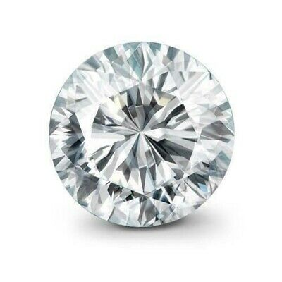 1.70 Ct Round Cut Cubic Zirconia Lab Crated for Ring 9 mm