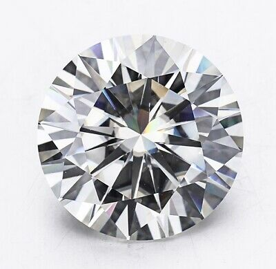 1.20 Ct Round Cut White CZ lab Crated CZ for Ring, Earring & jewellery