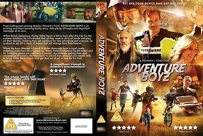 Adventure Boyz DVD (UK version SUPPORTING NHS - 25% OF PURCHASE PRICE TO NHS)