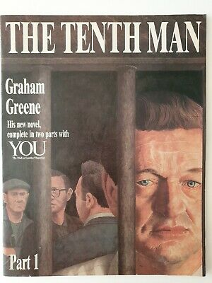 Graham Greene The Tenth Man You Magazine 1985 in 2 parts first edition true 1st