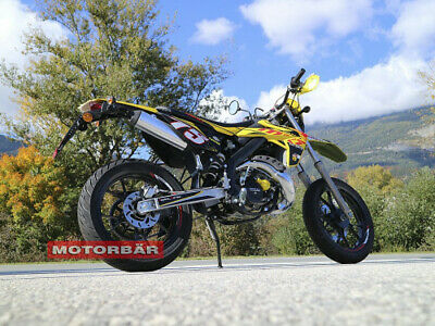 Rieju Cross Supermoto Moped 50ccm  Aktion Handguard 2Taker 2 T / Netto  € 2249,-