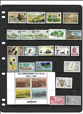 Commonwealth QE2 collection fine used and m/mint  no duplication