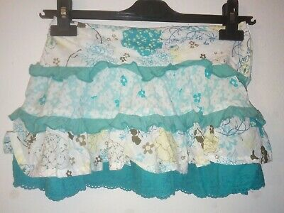 Bnwt Primark Young Dimension Floral Skirt Age 7-8 Years