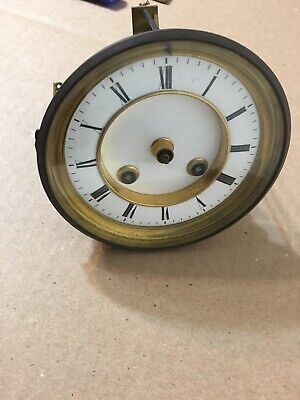 Antique French Japy Freres Silk Thread Clock Movement