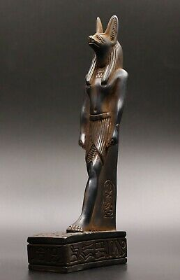 ANCIENT EGYPT EGYPTIAN ANTIQUES ANUBIS God Deity STATUE Carved STONE 1365 BC