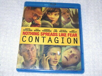 Movie Blu Ray Contagion Wow Like Today Fear Is The Worst