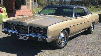 1970 Ford LTD 2 door Hardtop - Champagne Gold - Excellent Condition