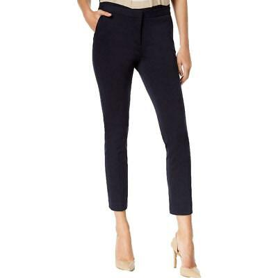 Tommy Hilfiger Women's Pants Blue Size 6 Ponte Ankle Slim Leg Stretch $79 #492