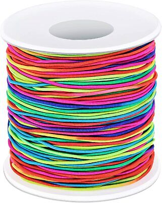 100M Strong Stretch Elastic Cord Wire 1.2mm Rope Bracelet Necklace String Bead