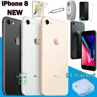 New Apple iPhone 8 Unlocked 64GB Smartphone Sim Free Various Colours UK
