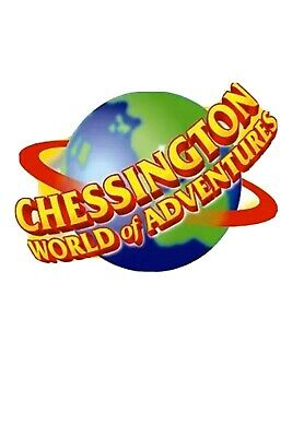 Chessington World Of Adventures - E-Tickets x 2 - Wednesday 1st April 2020