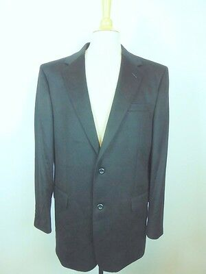 JOS A BANK BLACK 100% CASHMERE SPORTCOAT Jacket 40 FABULOUS