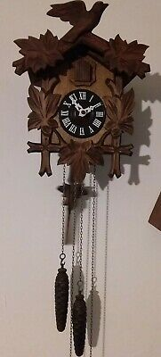 Genuine Black Forest Cuckoo Clock