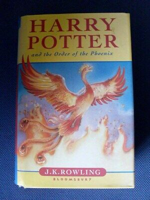 """Harry Potter & The Order Of The Pheonix"" 2003 First Edition. Gc."