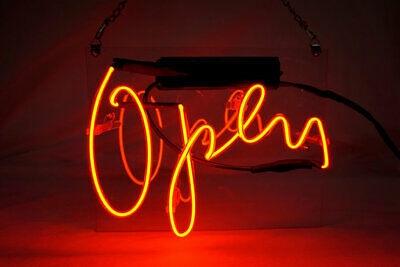 Open Cafe Coffee Pizza Neon Sign Lamp Light Acrylic Beer Bar With Dimmer