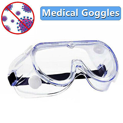 Protective Safety Glasses Lab Work Anti-fog Seal Eye Protection Goggles in Store