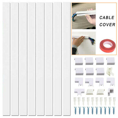 Cable Concealer Hide Cables Home Office TV Wall Mounted