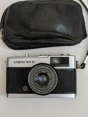 Olympus Trip 35 Camera with 2.8/40mm lens