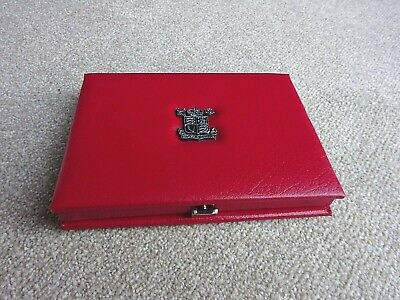 Vintage Royal Mint United Kingdom PROOF COIN COLLECTION 1988 in Leather Case