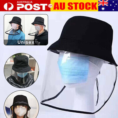 Anti-fog Protection Hat With Mask Face Cover Anti Sunlight Windproof Cap AU