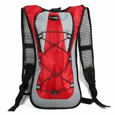 Hydration Backpack 5L Camping Hiking Running Sports 2L Water Bag Bladder Pack