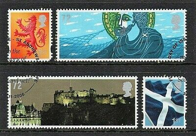 GB Stamps 2006 'Celebrating Scotland' - fine used