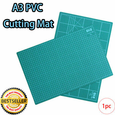 1X DOUBLE SIDED CUTTING MAT PAPER A3 300mm x 450mm PICTURE FRAMING TRIMMING