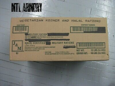 US Army Vegetarian  Koser Rations MRE  (Meals Ready-to-eat)