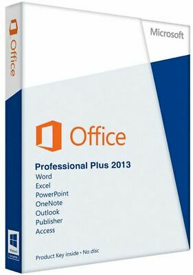 Microsoft Office 2013 Professional Plus Key + Downloadlink 64BIT x64Prof Pro MS