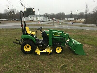 Very Nice John Deere 2210 4X4 Loader Tractor with Only 447 Hours