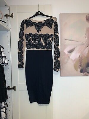 Lace Waist Dress By AX Paris white  pink coral black nude or navy flowing pretty