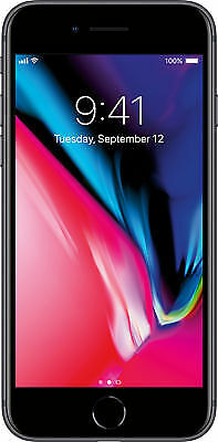 Apple iPhone 8 Space Gray 64GB A1905 LTE GSM AT&T - Good