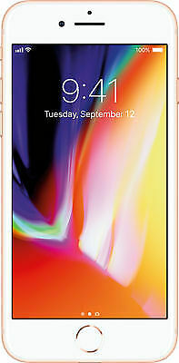 Apple iPhone 8 Gold 64GB A1905 LTE GSM AT&T - Good