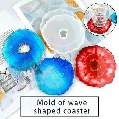 Assorted Irregular Coaster Resin Epoxy Silicone Molds Jewelry DIY Making Mould