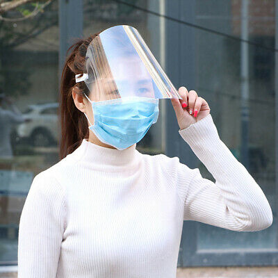 Face Shields Flip-up Protective Clear Cover for Lab Household lot