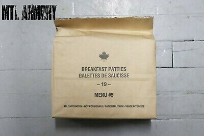 #05 Canadian Forces  IMP MRE Rations Canada Army (Meals Ready-to-eat)